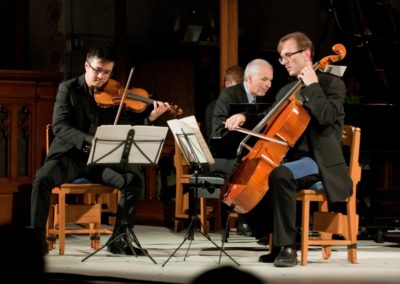 Scales of Joy and Sorrow, 2012, New Orford String Quartet
