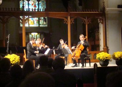 2015, New Orford String Quartet